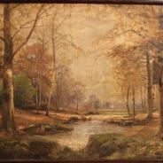 Картина 18 века. Неизвестный автор