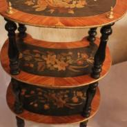 Этажерка деревянная антикварная