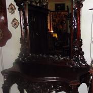 Зеркало с консолью