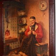 Картина в дубовой раме