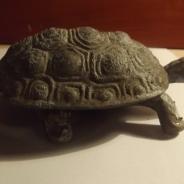 Пепельница-шкатулка черепаха производства СССР