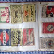 Альбом спичечных этикеток.134 этикетки .Начат в 1933.