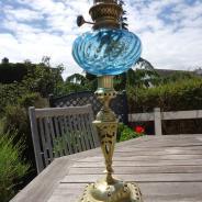 Лампа керосиновая Франция 19 век