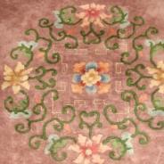 Китайский старинный ковёр ручной работы