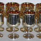 Набор серебряных бокалов