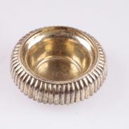 Солонка серебряная