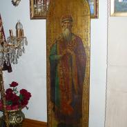 Старинная икона князь Владимир