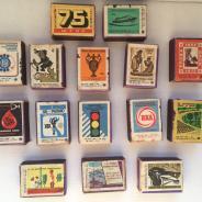 Коллекция спичек разное с 1963 г.