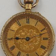 Часы карманные, Швейцария, золотые, 750 проба.