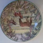 Коллекционная тарелка, Англия.