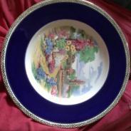 Коллекционная тарелка из Англии.