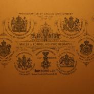 Большой дагерротип с изображением русского православного храма в Бад-Хомбурге - Церкви Всех святых. Германия,1897 год.