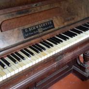 Немецкое фортепиано G. Schwechten