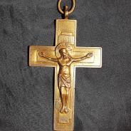 Крест наградной павловский наперсный из серебра