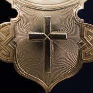 Старинный серебряный корец для теплоты и вина. Российская Империя, Москва, фабрика
