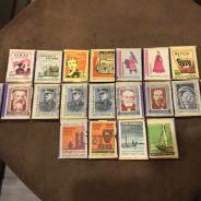 Спичечные коробки с 1961 по 1965