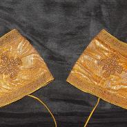 Старинный комплект воскресного протоиерейского (игуменского) облачения: дорогая парча, золотая нить. Россия, XIX век