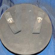 Винтажная бескозырка с кокардой и надписью