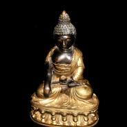 Будда, медь , 18-19 век, 22 см высота