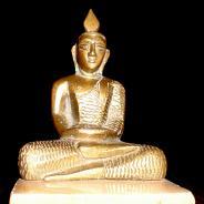 Будда , Статуэтка Медитирующий Будда 17-18 века