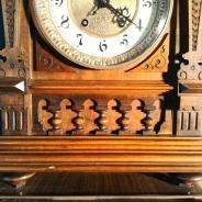 Каминные часы с боем Lenzkirch 59 см, 1886 год
