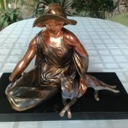 Скульптура  Арт Деко Uriano 41*29 см