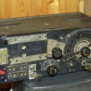 радиоприёмник  армейский, ламповый, УС-П