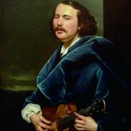 Гитара мастера Ивана Краснощекина, 1865 г.